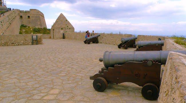 Baluard de Sant Jaume part of the city wall of Dalt Vila