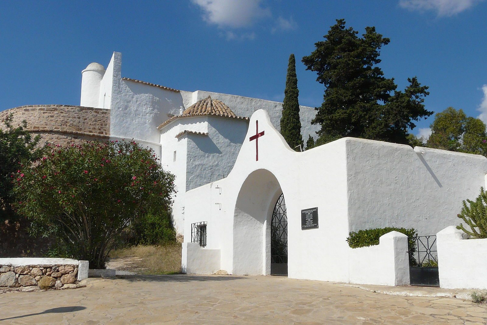 Puig de Missa church at Santa Eulalia
