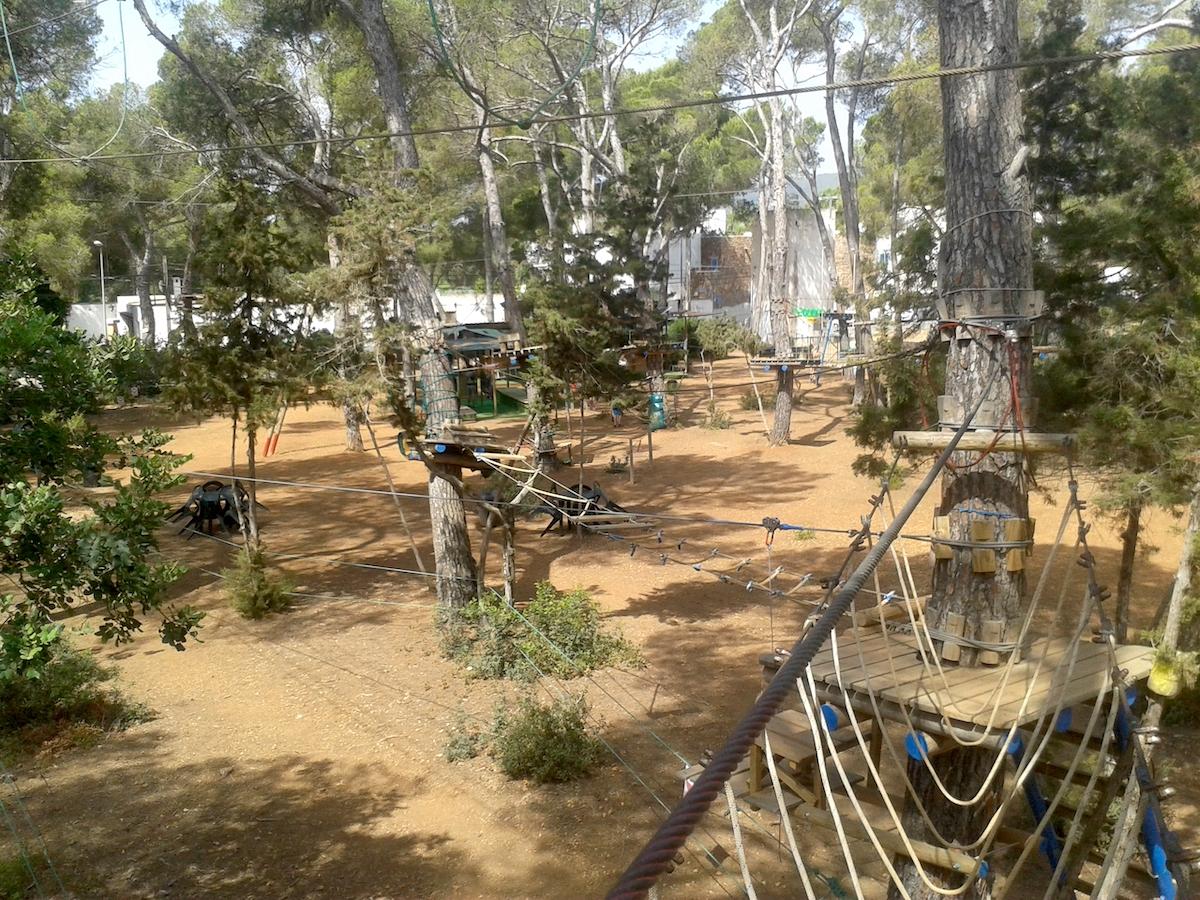 Push your limits at the Acrobosc Ibiza Woodland Adventure Park