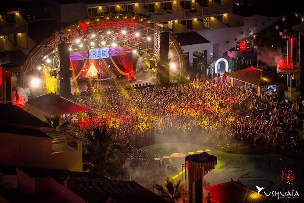 Ushuaia Ibiza outdoor partying at its finest.