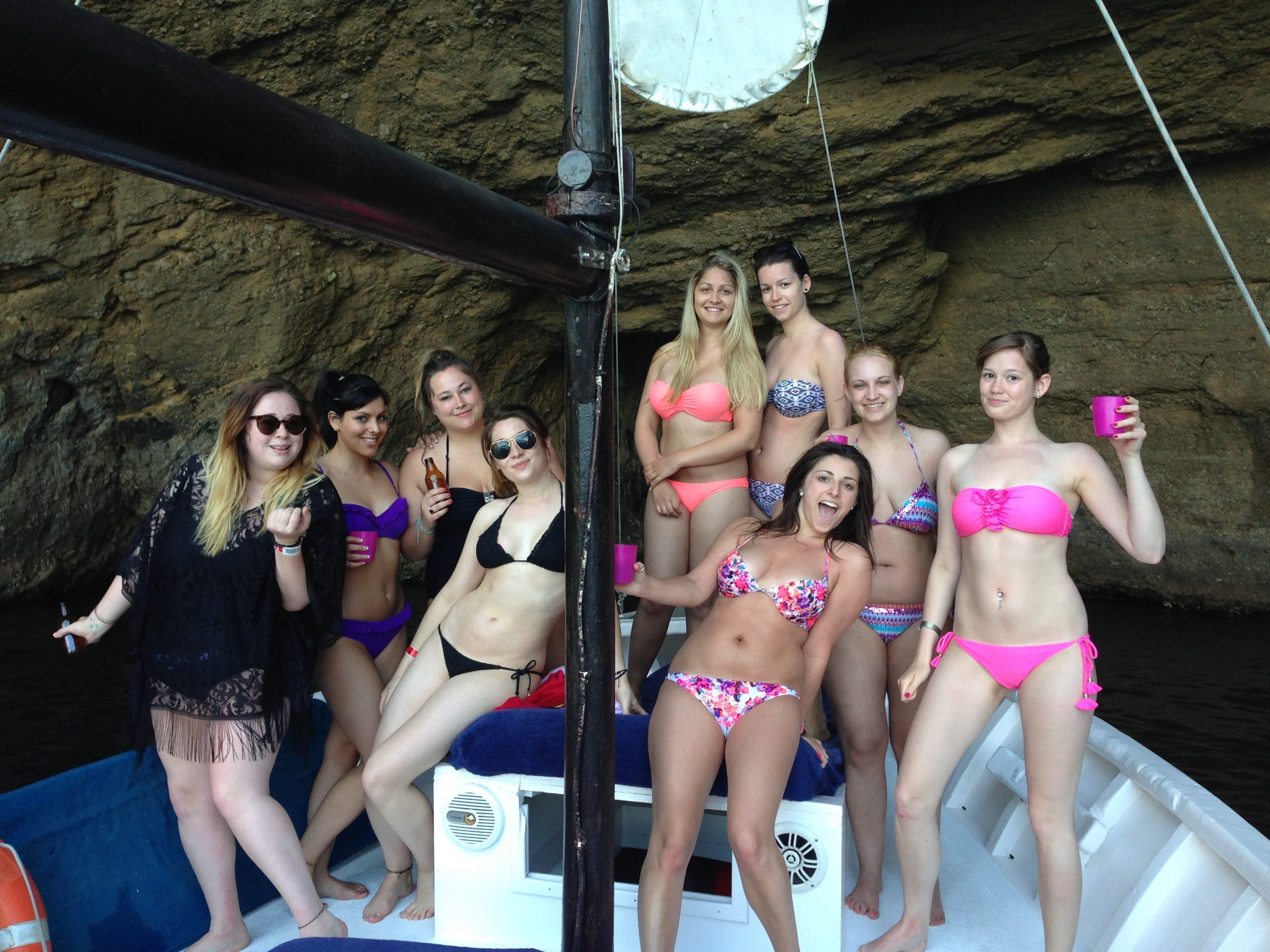 Loving life on Chilli Pepper Charters meeting new Ibiza lover
