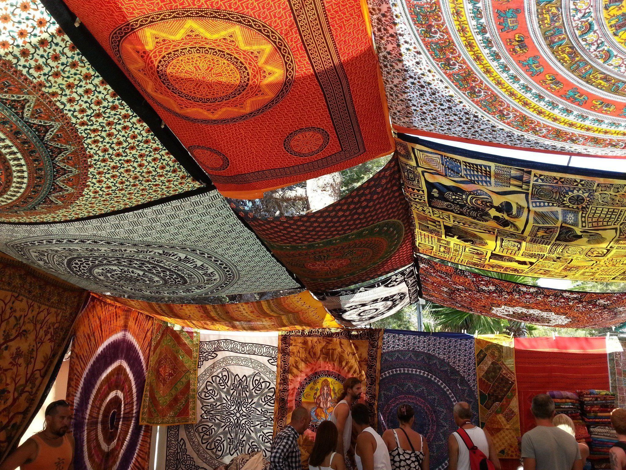 The Hippy Market at Club Punta Arbia Es Canna Ibiza