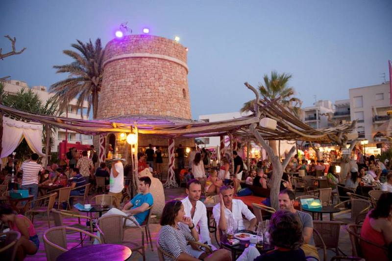 Kumharas the perfect place to relax and watch the Ibiza sunset